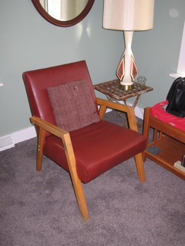 Kenda Had Upholstered This Chair, Years Ago, With A Plywood Base.
